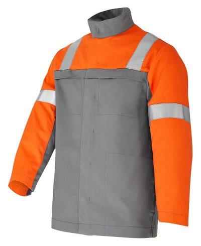 Formula Madrid_Bundjacke_grau-orange