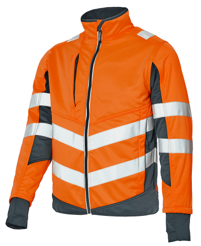 Softshell Jacke_orange-grau_800x980px