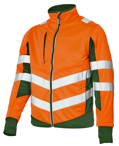 Softshell Jacke_orange-gruen_800x980px